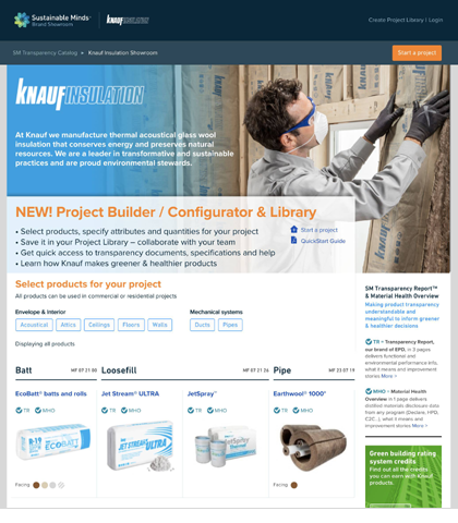 Knauf Insulation North America Partners with Sustainable